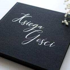 Księga gości - czarne karty