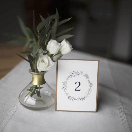 Numery stołów eco
