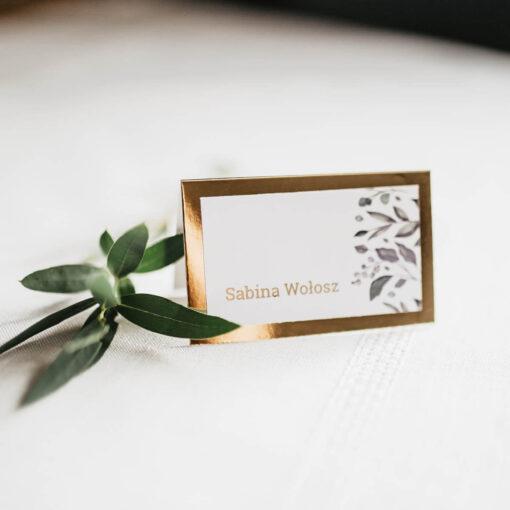 winietki weselne harmonijka ze zdjęciem