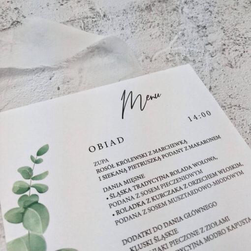 menu eukaliptus